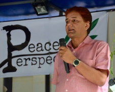 Bijaya Karki, our Board Member, delivers an inspiring message of peace